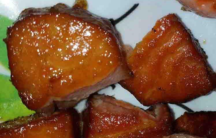 Pépitte de saumon fumée à l'érable