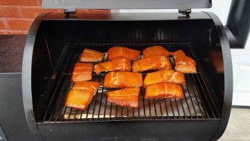 Recette de saumon fumé à chaud